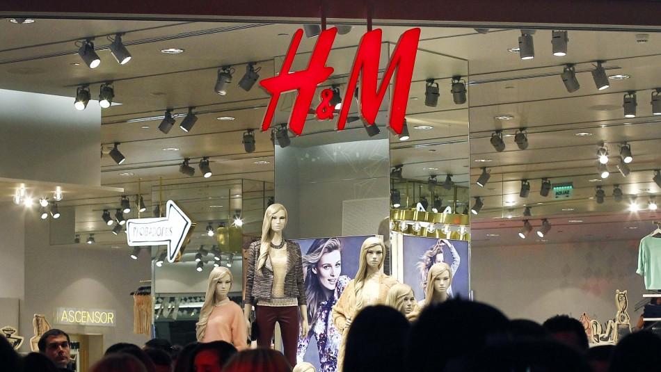 H&M lanza servicio de venta online con despacho a todo Chile: tendrán envío gratis por compras sobre $30 mil