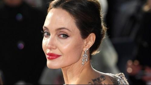 Así de elegante luce Angelina Jolie al lado de su exesposo en una salida para cenar