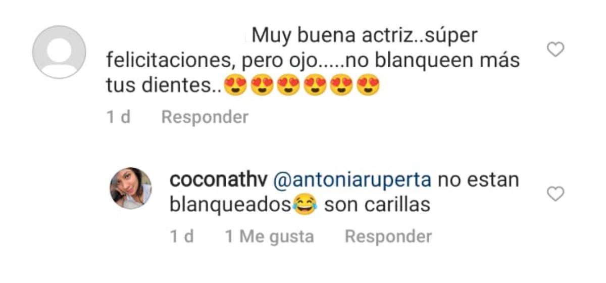 Comentario de Nathalie Vera