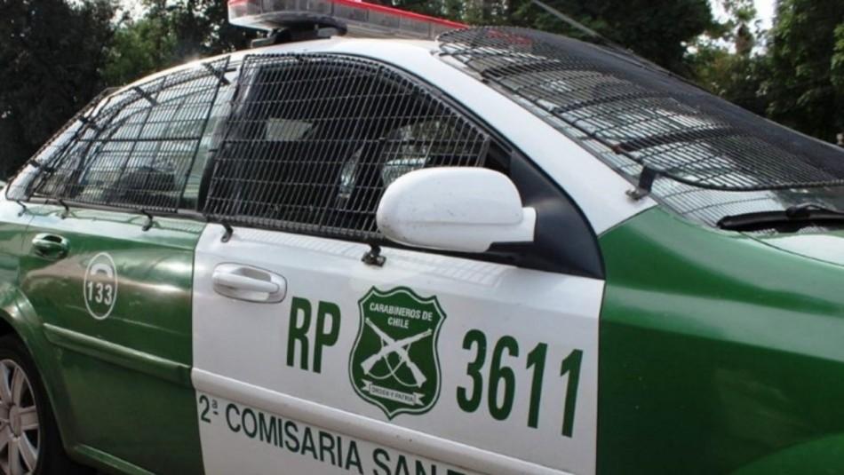 Portonazo frustrado en San Joaquín: Sistema de seguridad del vehículo no permitió que el auto encendiera