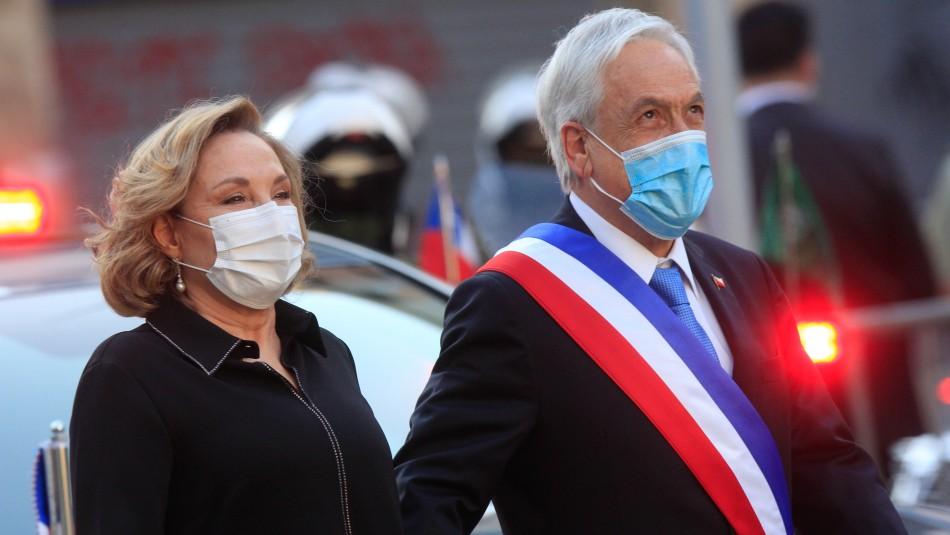 Cecilia Morel defiende a Piñera tras acusación constitucional: