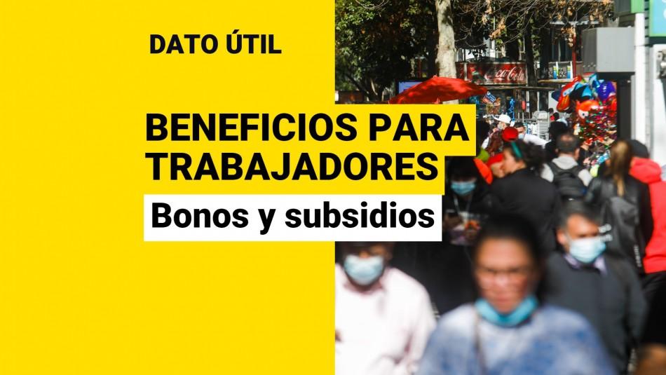 Beneficios para trabajadores octubre 2021