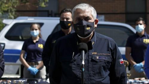 Prisión preventiva para Héctor Espinosa: exdirector general de la PDI es imputado por malversación de caudales públicos