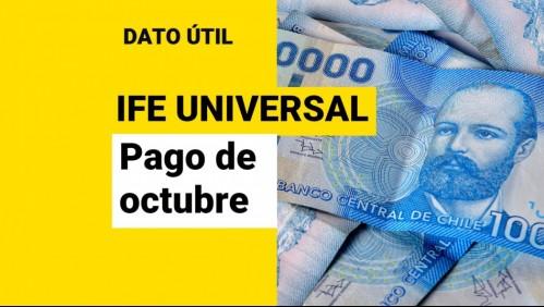 IFE Universal de octubre: ¿Cuántos días faltan para el pago?