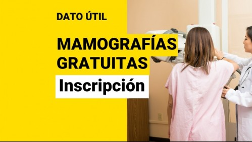 Fundación ofrece mamografías gratuitas: ¿Cuáles son los requisitos y cómo me puedo inscribir?