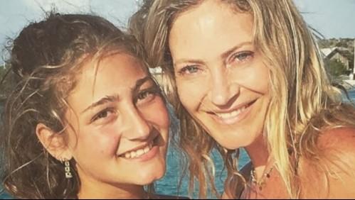 ¿Se enojó? Marcela Vacarezza fue objeto de una divertida broma de su hija Florencia