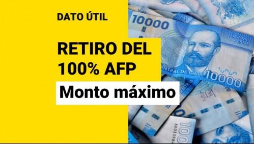 Retiro del 100% de la AFP: ¿Cuál es el monto máximo que podría retirar?