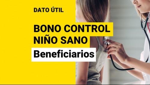 Bono Control Niño Sano: ¿Quiénes lo reciben?